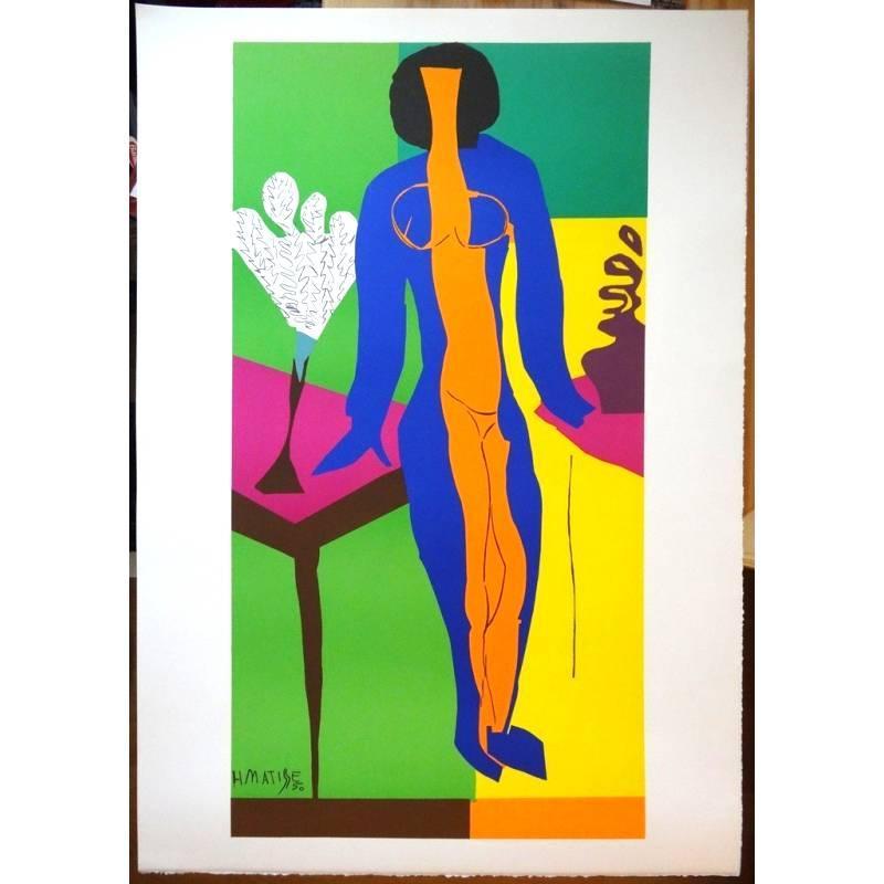 after Henri Matisse - Zulma - Lithograph
