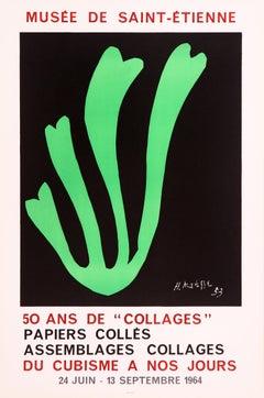 Algue Verte - Musée de Saint Etienne (after) Henri Matisse, 1964