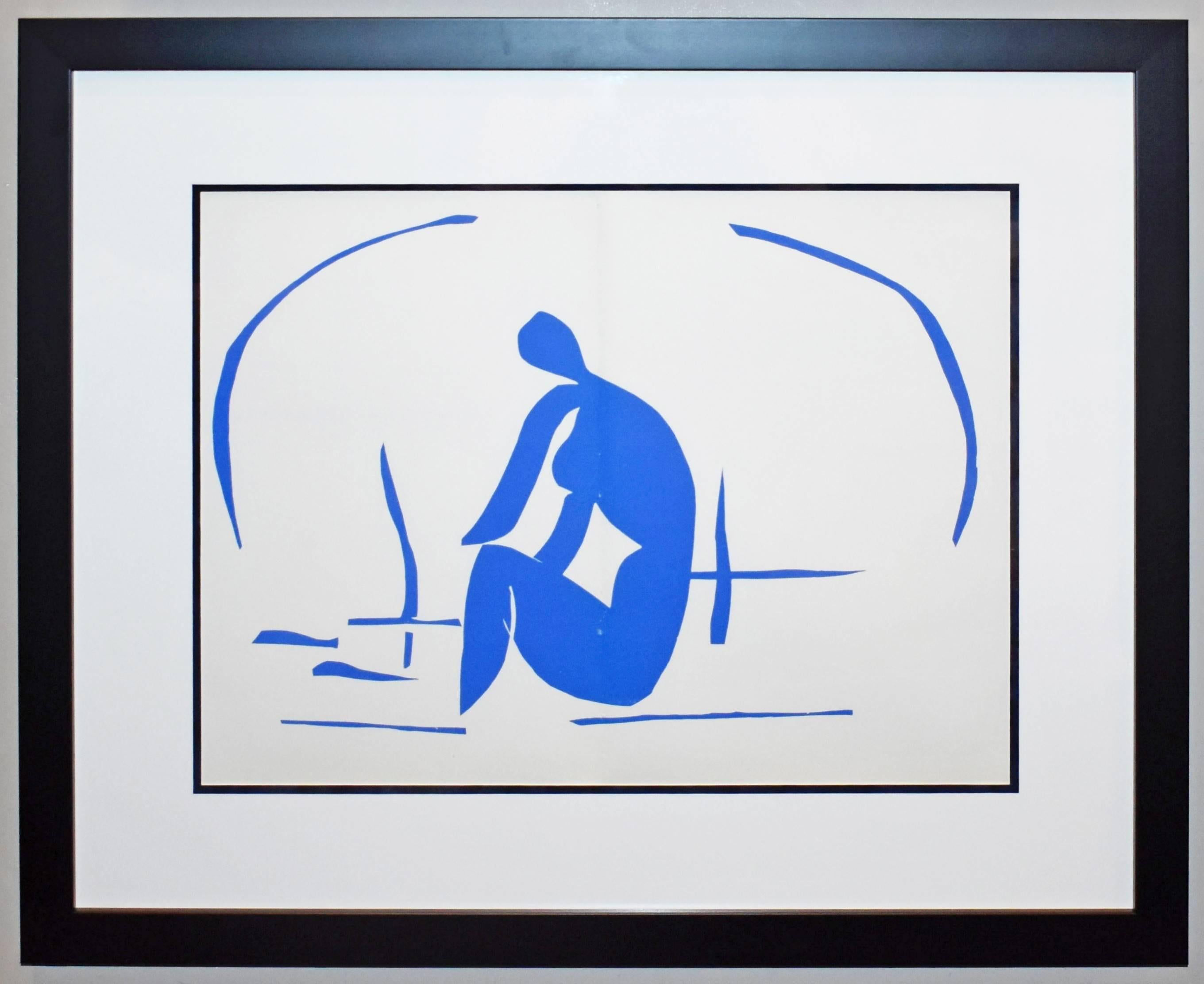 Baigneuse Dans Les Roseaux, from The Last Works of Henri Matisse