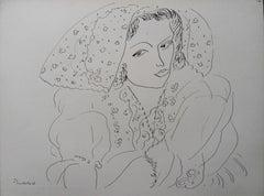 Bohemian Seductress - Lithograph, 1943