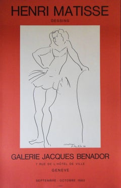 Christiane : Dancer - Lithograph Poster - Galerie Jacques Benador