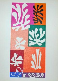 Fleurs de Neige, from The Last Works of Henri Matisse
