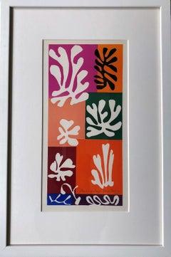 Fleurs De Neige - Henri Matisse, Verve, Mourlot Freres, cut-out, collage