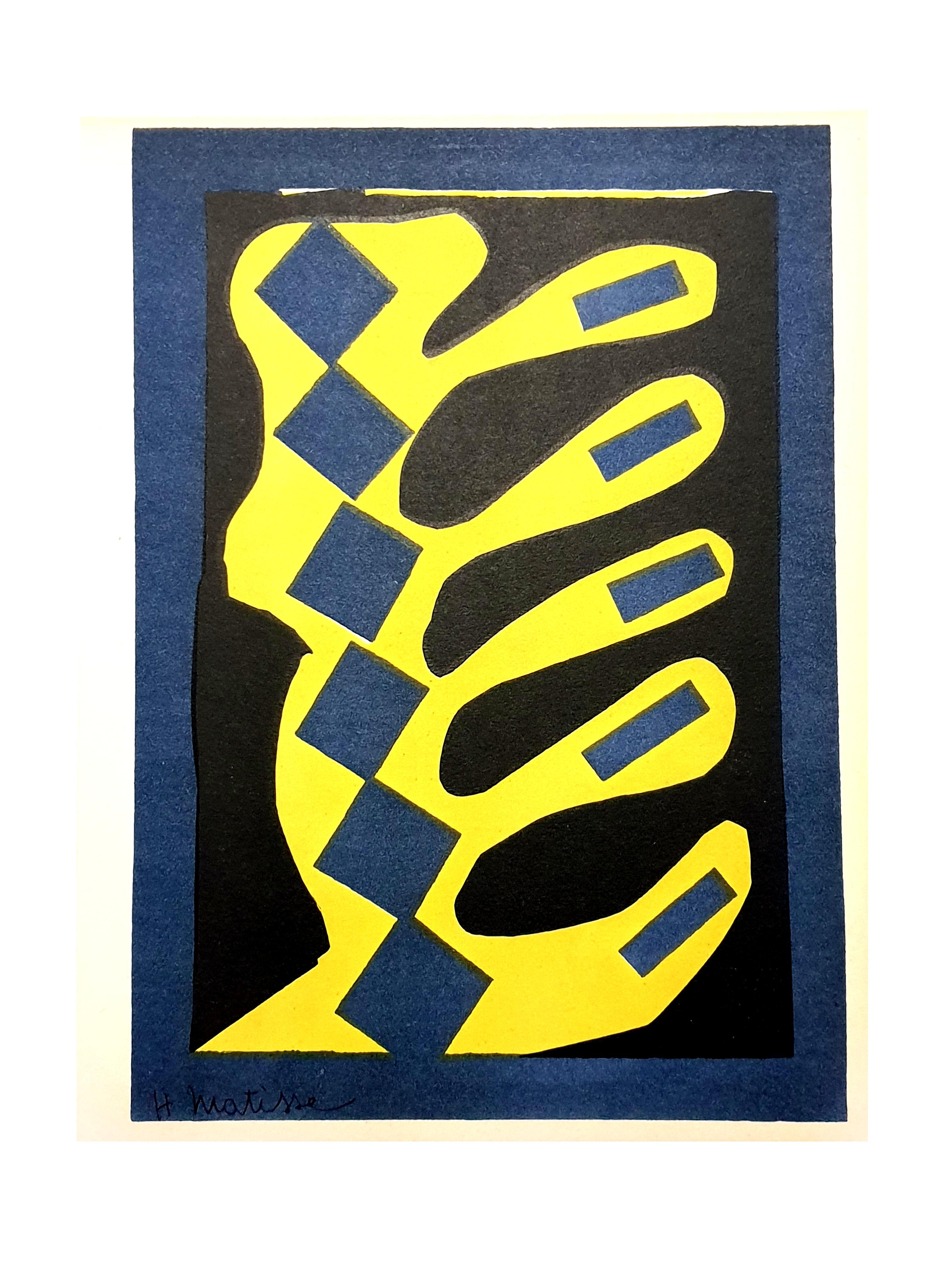 Henri Matisse (After) - Plant - Lithograph