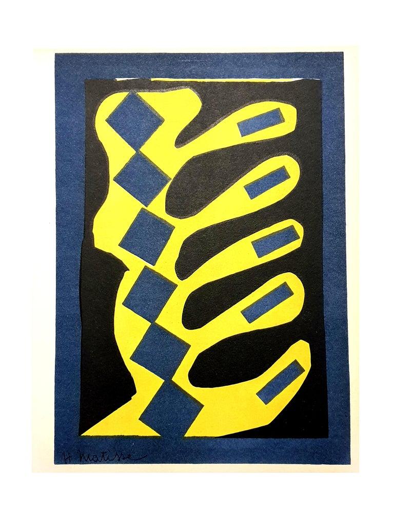 (after) Henri Matisse Figurative Print - Henri Matisse (After) - Plant - Lithograph