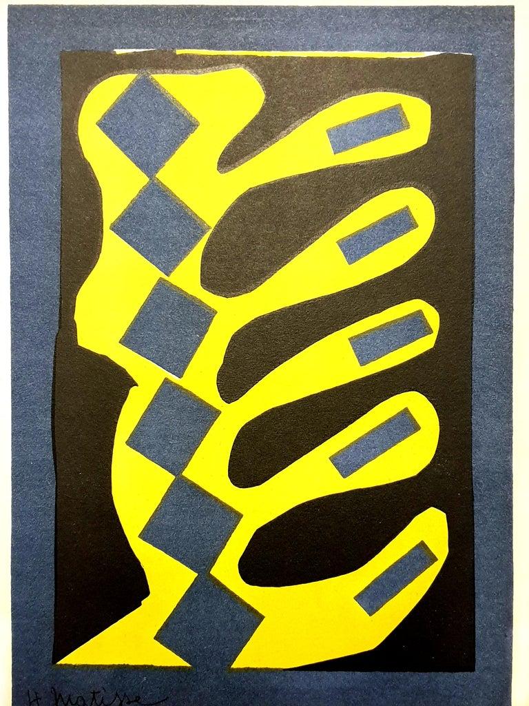 Henri Matisse (After) - Plant - Lithograph - Modern Print by (after) Henri Matisse