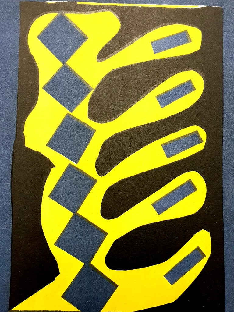 Henri Matisse (After) - Plant - Lithograph Published in the deluxe art review, XXe Siecle 1954 Dimensions: 32 x 24 cm  Publisher: G. di San Lazzaro.  MATISSE'S BIOGRAPHY  YOUTH AND EARLY EDUCATION  Henri Emile Benoît Matisse was born in a tiny,