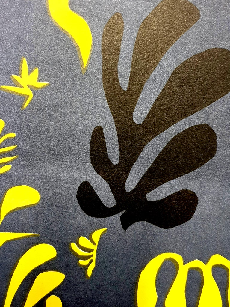 Henri Matisse (After) - Plants - Lithograph Published in the deluxe art review, XXe Siecle 1954 Dimensions: 32 x 24 cm  Publisher: G. di San Lazzaro.  MATISSE'S BIOGRAPHY  YOUTH AND EARLY EDUCATION  Henri Emile Benoît Matisse was born in a tiny,