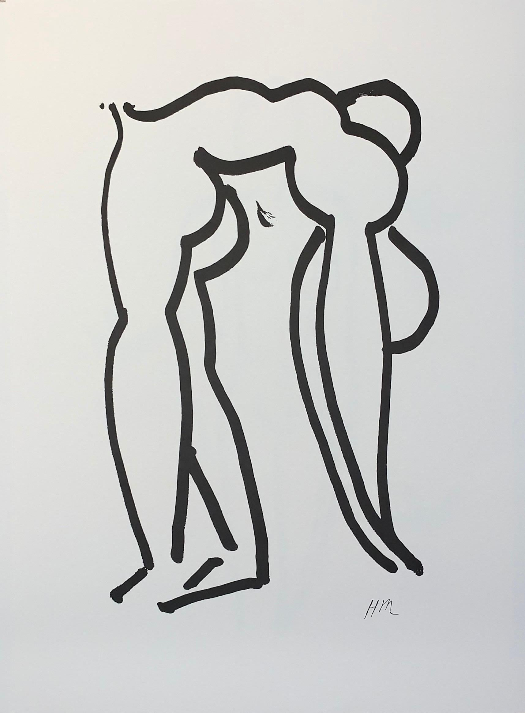 L'Acrobate - Color Lithograph - 2007 - Henri Matisse