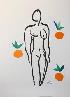 Le Nu Aux Oranges - Color Lithograph - 2007 - Henri Matisse