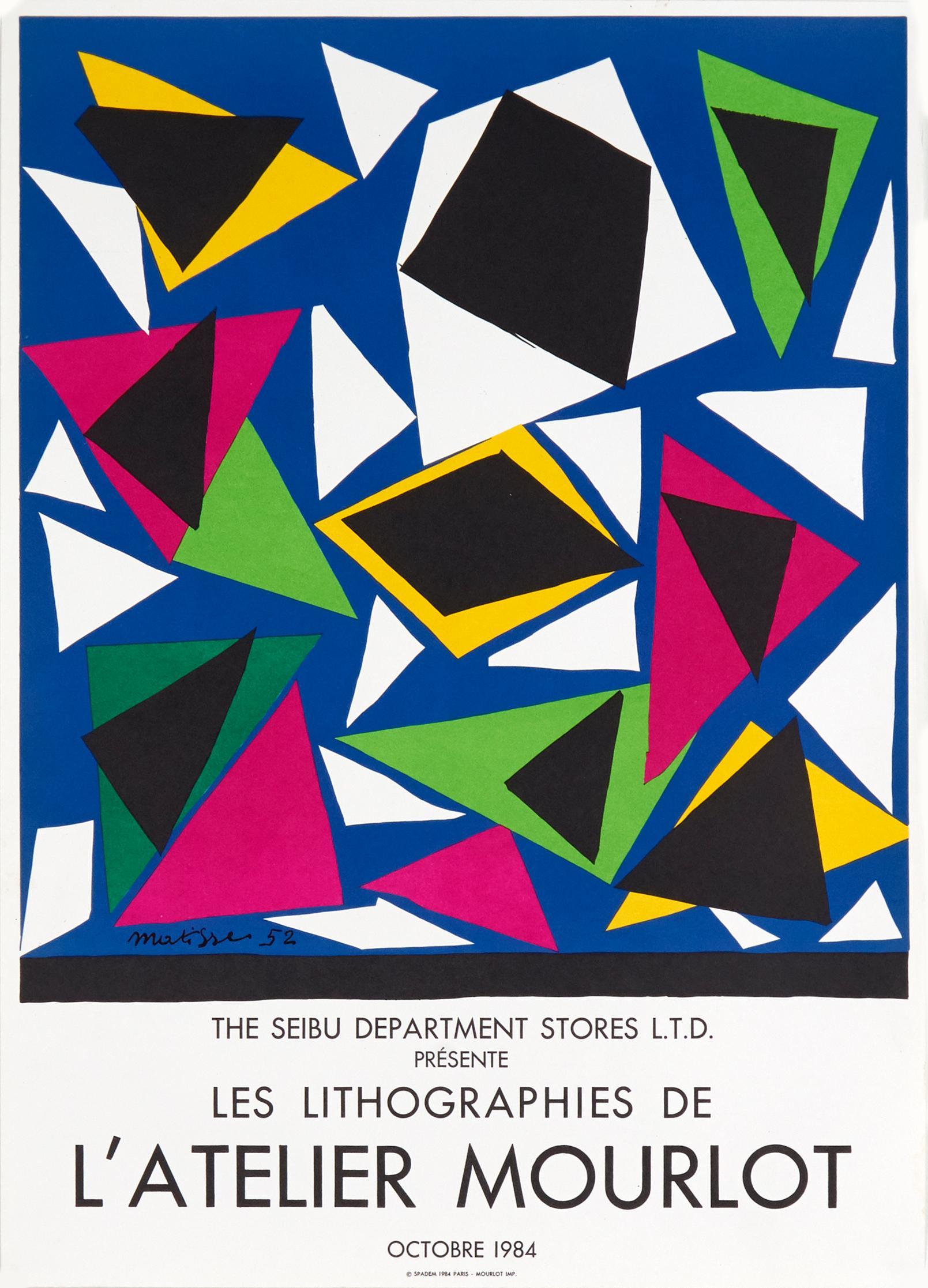 Les Lithographies de l'Atelier Mourlot by Henri Matisse