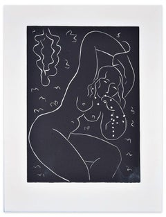 Nu au Bracelet - Original Screen Print After Henri Matisse - 1940