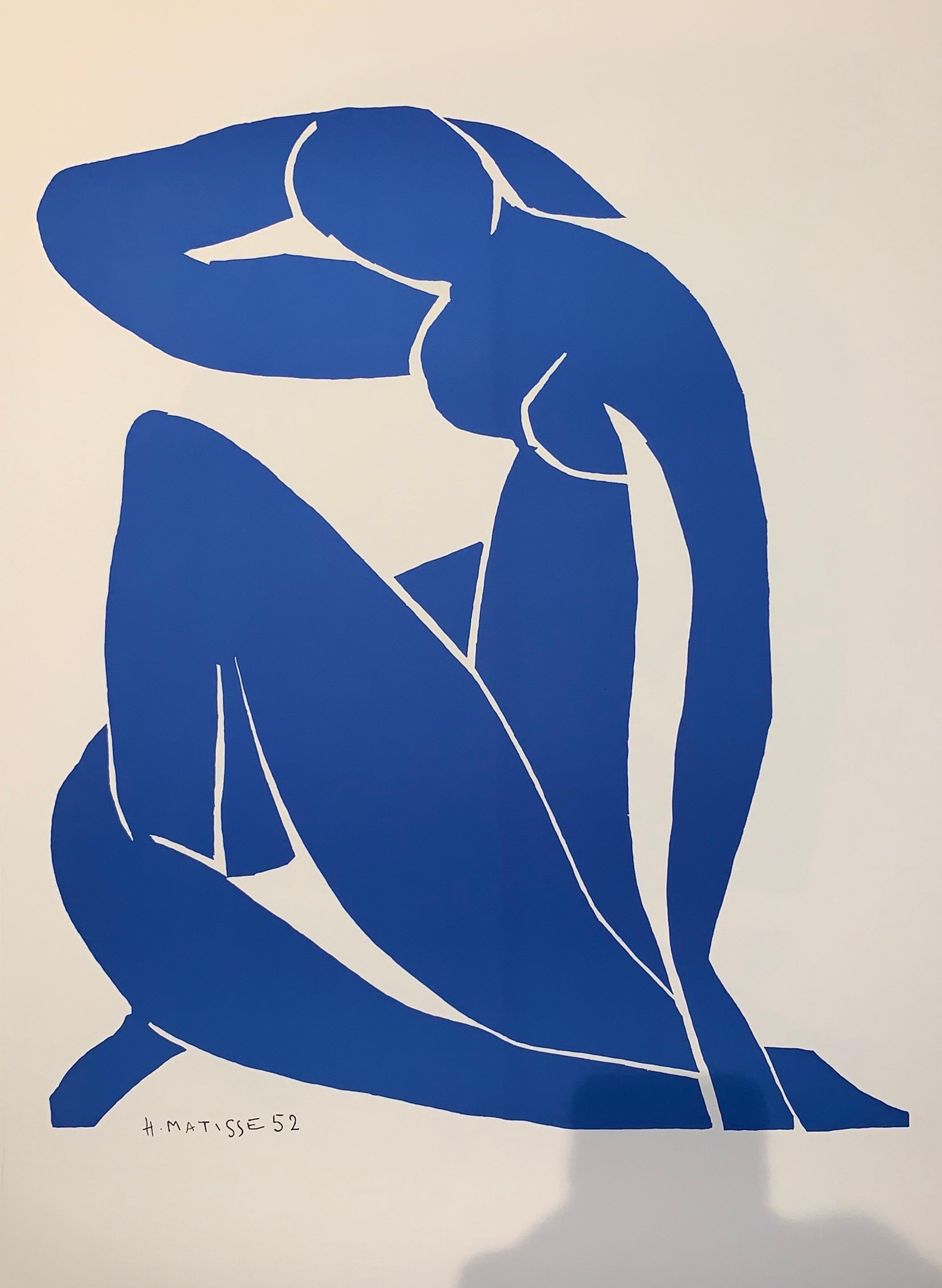 Nu Bleu II - Color Lithograph - 2007 - Henri Matisse