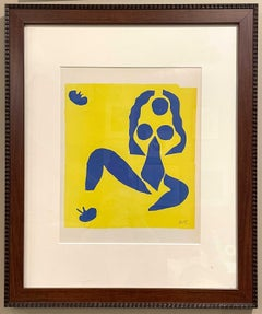 Nu bleu, la grenouille (Blue Nude, The Frog), Nus Bleus IX