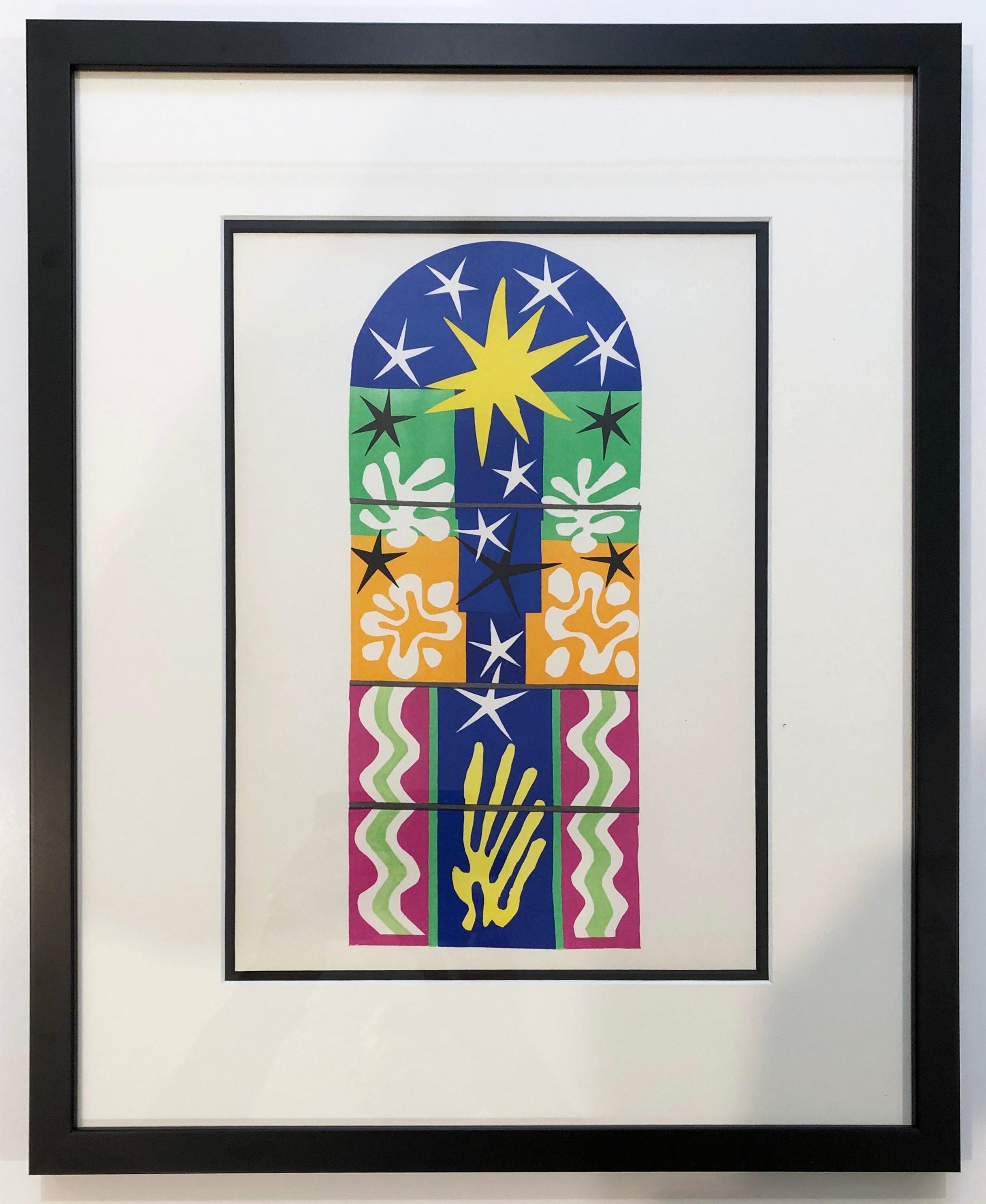 Nuit de Noel, from The Last Works of Henri Matisse