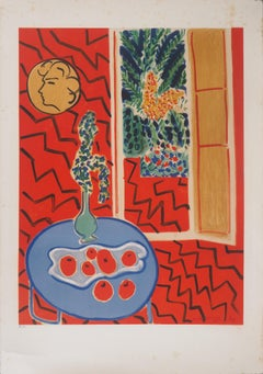 Red Interior - Lithograph, Numbered / 100 # (Mourlot 1961)