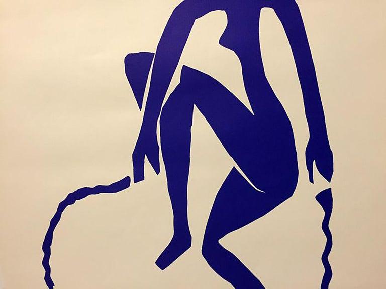 Mid-20th Century After Henri Matisse Ragazza Che Salta La Corda 'Rope Jumping Girl', Certificate For Sale