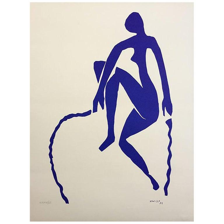 After Henri Matisse Ragazza Che Salta La Corda 'Rope Jumping Girl', Certificate For Sale