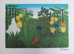The Repast of the Lion - Lithograph - 300ex