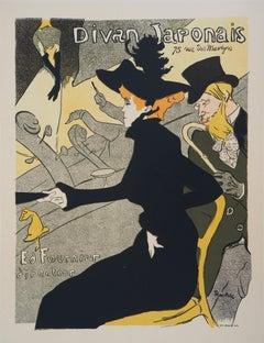 Divan Japonais - Lithograph (Les Maîtres de l'Affiche), 1895