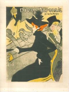 Divan Japonais - Original Litho After H. de Toulouse-Lautrec