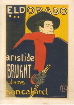 Eldorado - Original Litho After H. de Toulouse-Lautrec