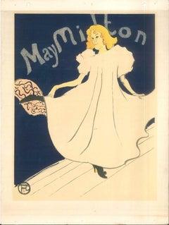 May Milton - Original Litho After H. de Toulouse-Lautrec