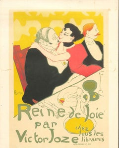 Reine de Joie - Original Litho After H. de Toulouse-Lautrec