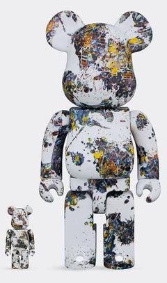 Jackson Pollock Bearbrick 400% Companion (Jackson Pollock BE@RBRICK)