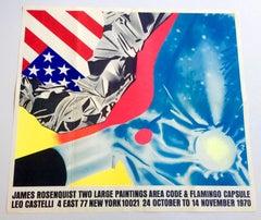 Vintage James Rosenquist poster (Leo Castelli early 1970s)