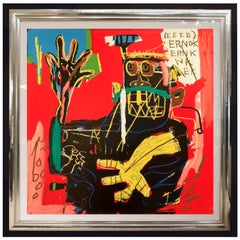 'After' Jean-Michel Basquiat, Ernok, from Portfolio 1, 1983-2001