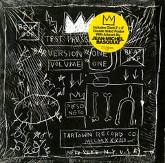 Basquiat Beat Bop record art and poster (Basquiat album art)