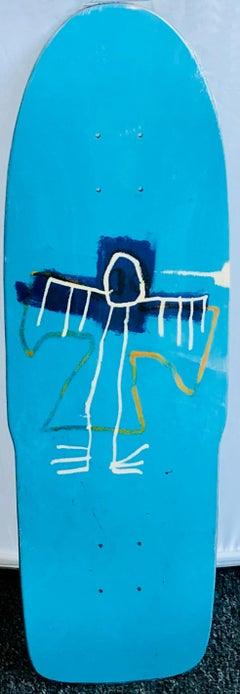 Basquiat Skateboard Deck (Basquiat skate deck)