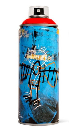 Limited edition Basquiat spray paint can