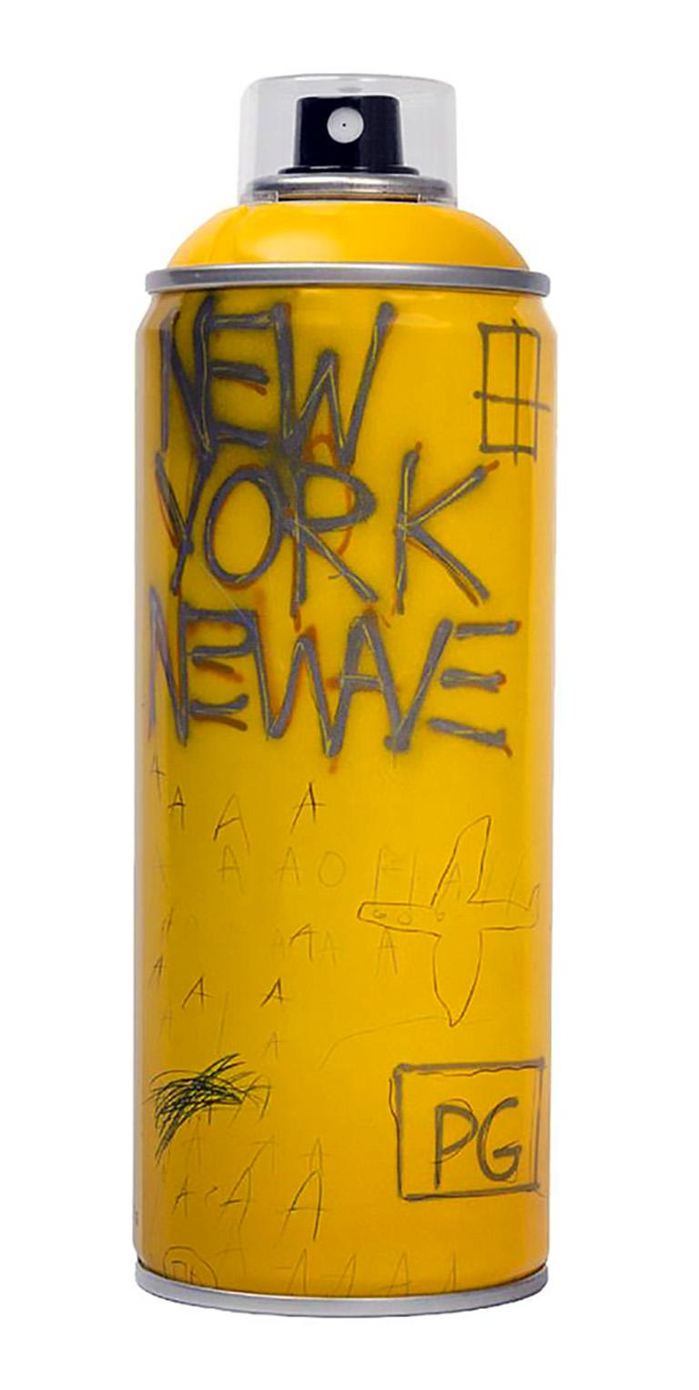 Limited edition Basquiat spray paint can set - Pop Art Print by after Jean-Michel Basquiat