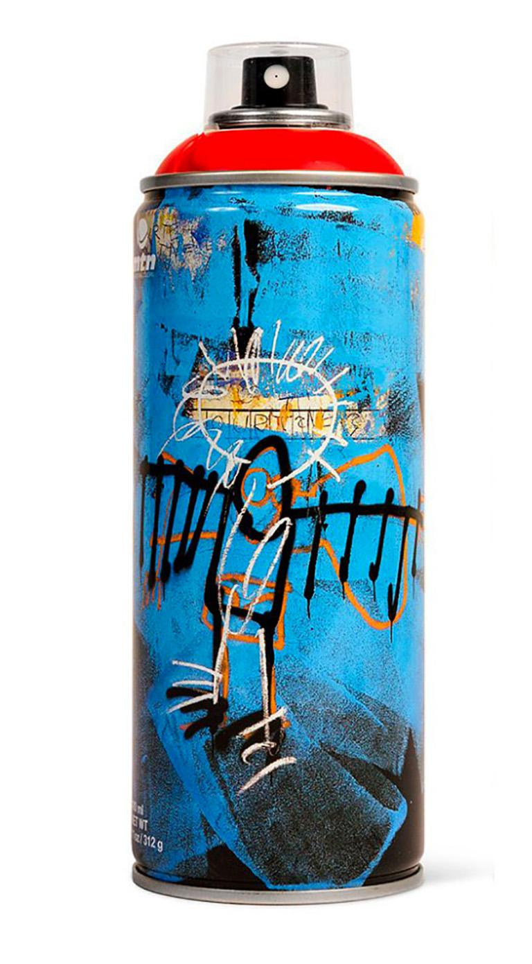Limited edition Basquiat spray paint can set 1
