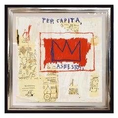 'After' Jean-Michel Basquiat, Per Capita, from Portfolio 1, 1983-2001