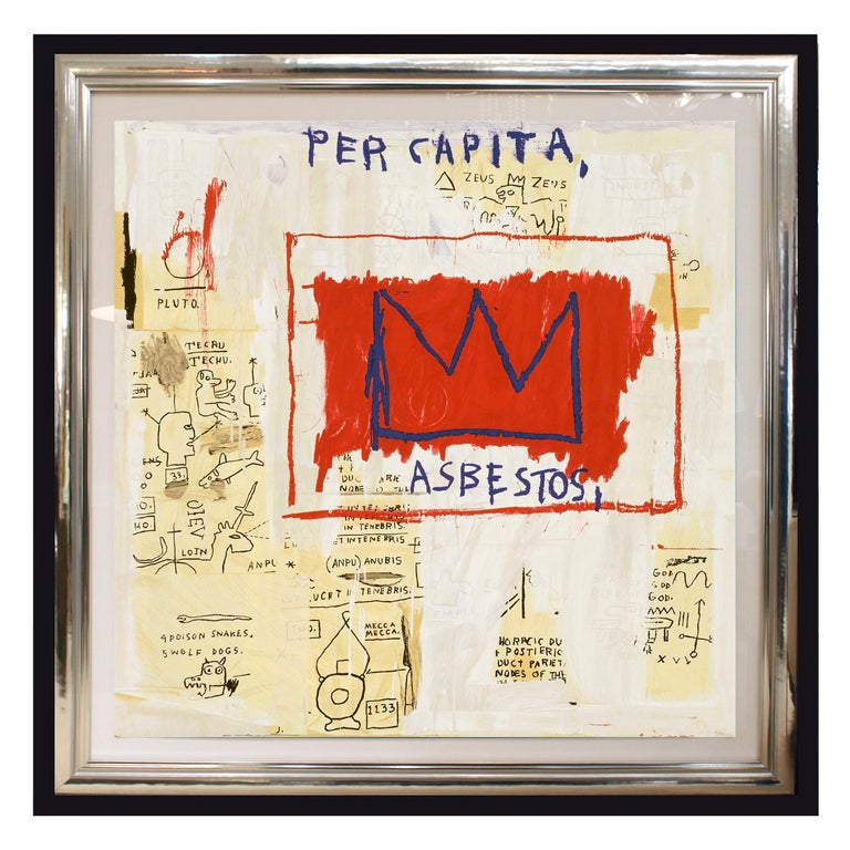 'After' Jean-Michel Basquiat, Per Capita, from Portfolio 1, 1983-2001 For Sale