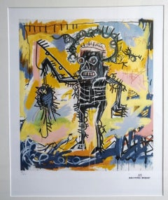 After Jean-Michel Basquiat - Lithography - Untitled (Fishing), 1981