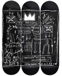 Basquiat Beat Bop Skateboard Decks (set of 3)