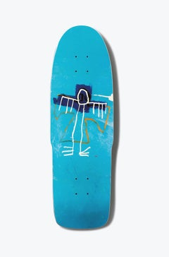 Basquiat Skateboard Deck (basquiat angel skateboard)