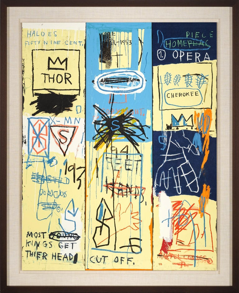 Charles the First, Portfolio II  - Print by Jean-Michel Basquiat
