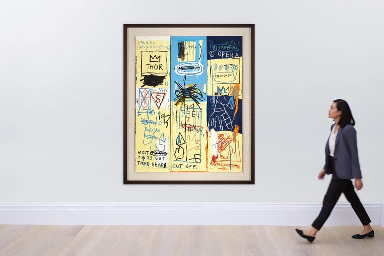 Charles the First, Portfolio II  - Contemporary Print by Jean-Michel Basquiat