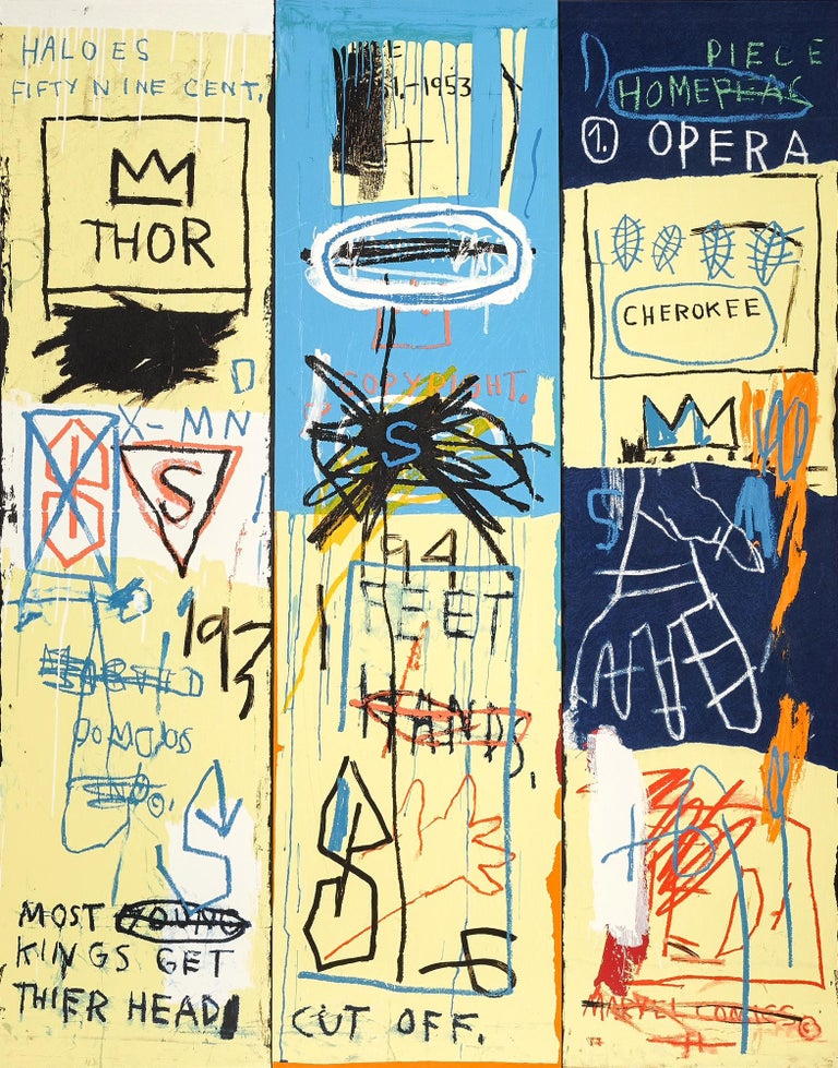 Jean-Michel Basquiat Figurative Print - Charles the First, Portfolio II