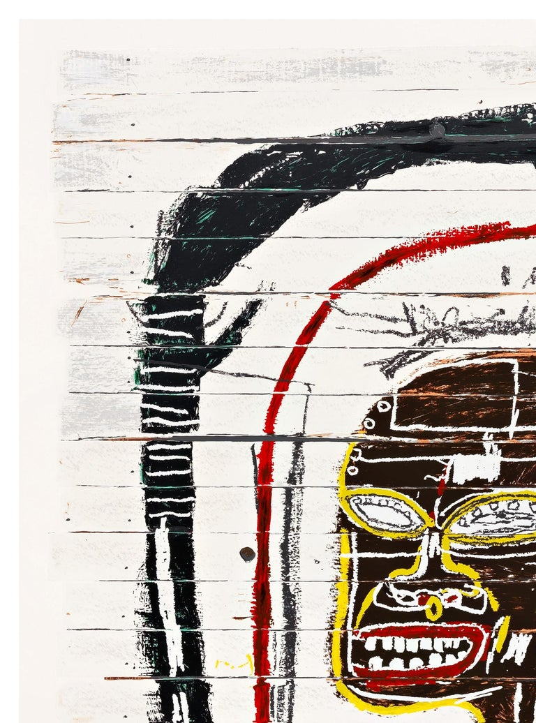 Flexible - Print by (after) Jean-Michel Basquiat