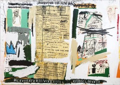 Jean-Michel Basquiat, Jawbone of an Ass; 1982/2005; Screenprint