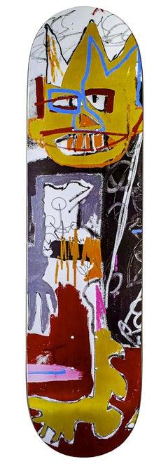 Jean-Michel Basquiat Skateboard Deck (Basquiat A-One)