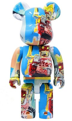 Basquiat Bearbrick 1000% Companion (Basquiat BE@RBRICK)