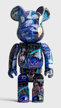 Basquiat Bearbrick 1000% Companion (Basquiat BE@RBRICK)