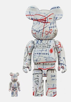 Basquiat Bearbrick 400% Companion (Basquiat BE@RBRICK)